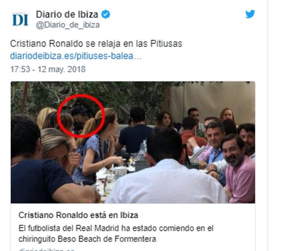 Dưỡng thương, Ronaldo trùm kín mít đi ra đảo? - Bóng Đá