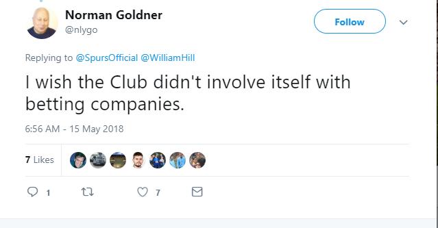 CĐV Tottenham phẫn nộ khi CLB 'bén duyên' với con bạc - Bóng Đá