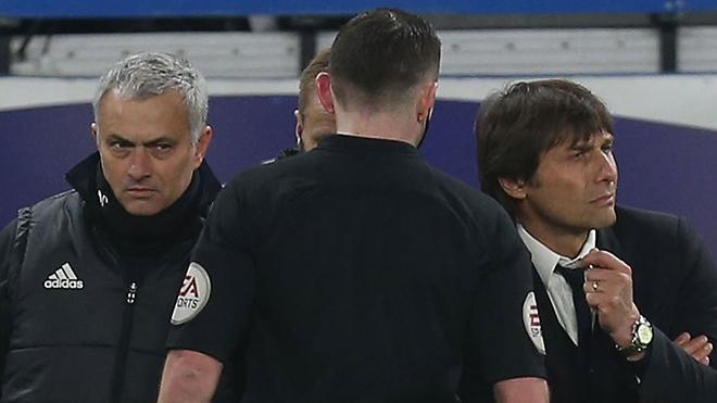 Mourinho - Conte: Mình sinh ra đâu phải để buồn... - Bóng Đá