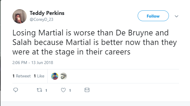 Mourinho sẽ không thích sự so sánh của fan Man United sau khi Martial quyết định ra đi - Bóng Đá