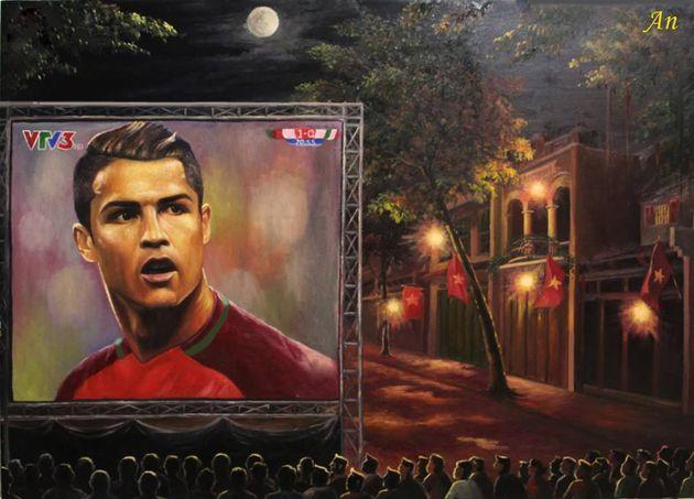 Họa sĩ An Thắng: Tôi ưu ái Ronaldo vì anh biết cách làm