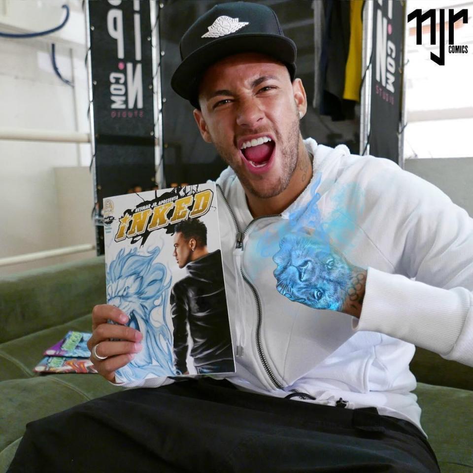 Neymar làm siêu anh hùng truyện tranh - Bóng Đá