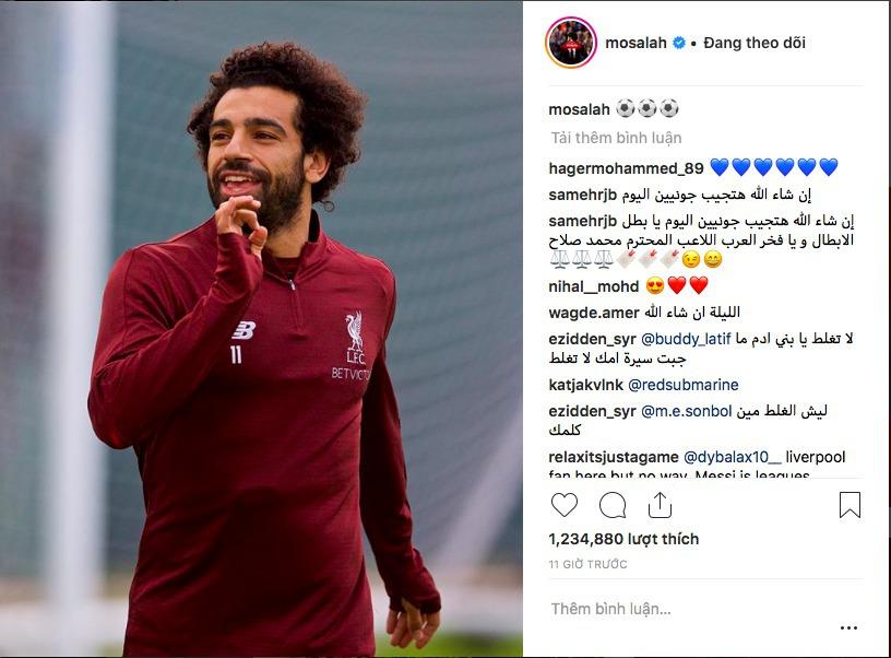 Tiết lộ mục tiêu 'làm gỏi' PSG của Salah - Bóng Đá