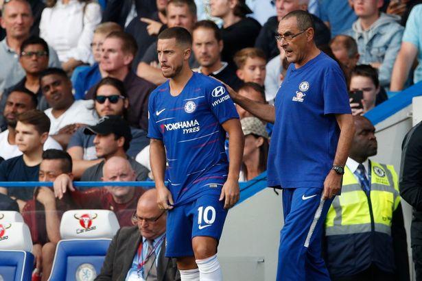 Vì sao Sarri đặt mục tiêu không tưởng cho Hazard? - Bóng Đá