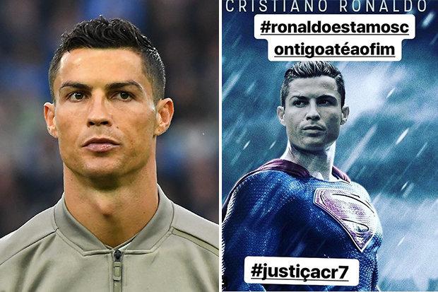 Ronaldo sẽ thoát tội hiếp dâm nhờ Jorge Mendes - Bóng Đá