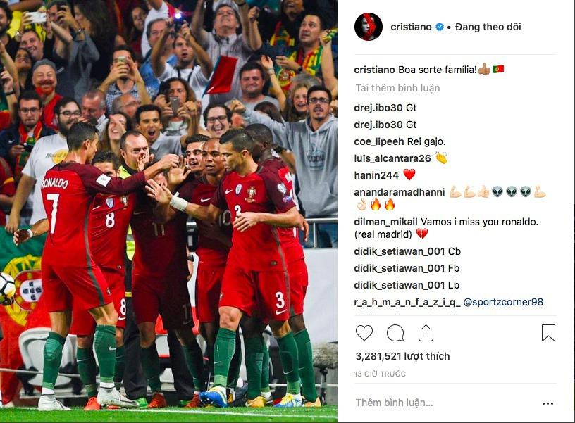 Không tập trung lên tuyển, Ronaldo nói lời ruột gan - Bóng Đá