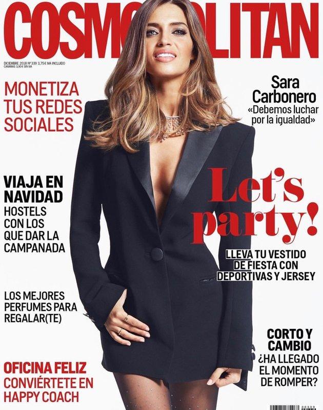 Vợ Iker Casillas đẹp sang chảnh trên tạp chí Cosmopolitan - Bóng Đá