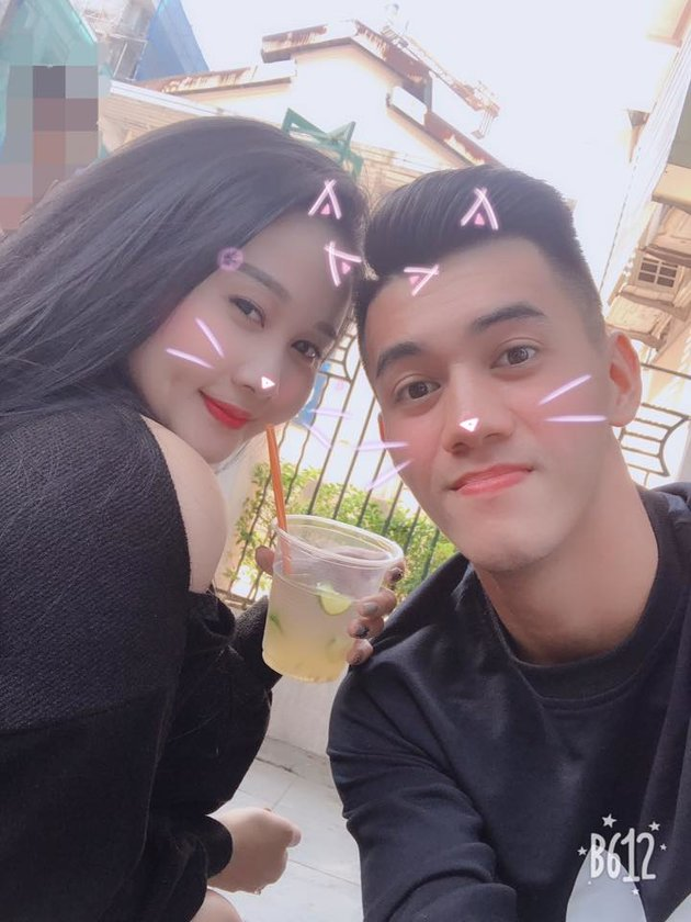 Ghi bàn vào lưới Campuchia, Tiến Linh chia vui cùng bạn gái - Bóng Đá
