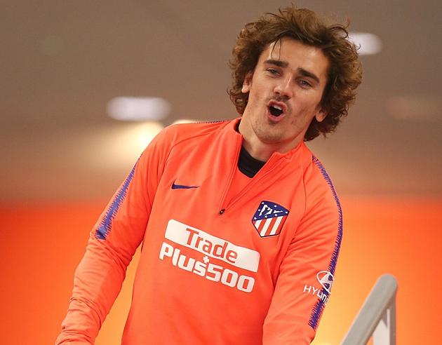 Ảnh Simeone tập luyện cùng Atletico - Bóng Đá
