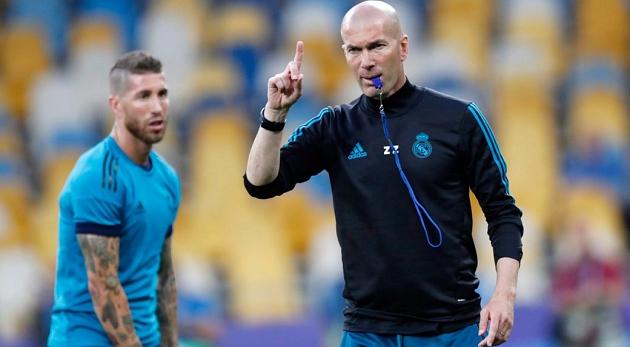 Zidane muốn Real về thứ 2 La Liga - Bóng Đá
