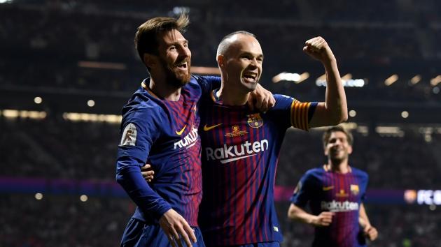 Iniesta ca ngợi Messi: Anh ấy là duy nhất - Bóng Đá