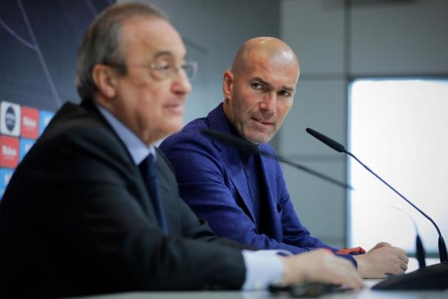 Zidane sẽ có toàn quyền quyết định ở Real - Bóng Đá