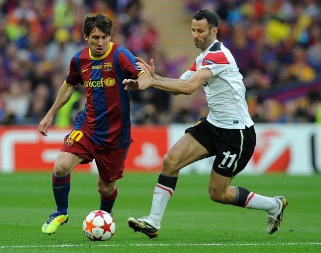 Messi sắp vượt qua thành tích danh hiệu của Ryan Giggs - Bóng Đá