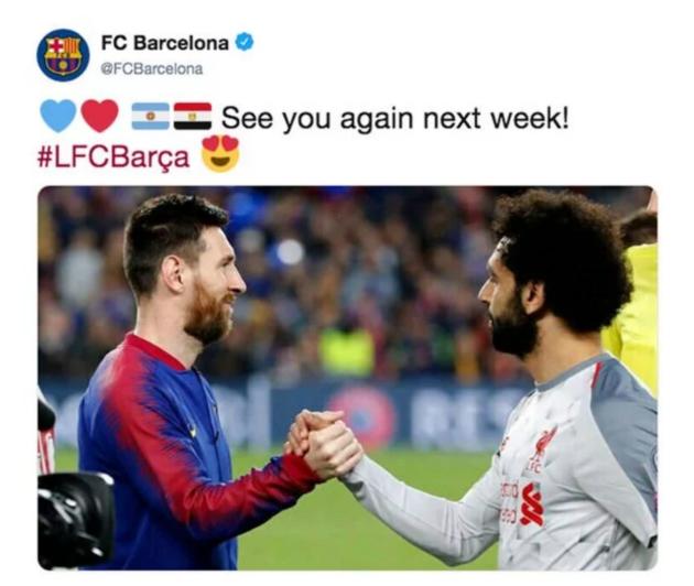 fan Barca muốn đội bóng mua Salah - Bóng Đá