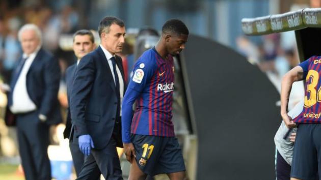 Ousmane Dembele vắng mặt trận lượt về với Liverpool - Bóng Đá