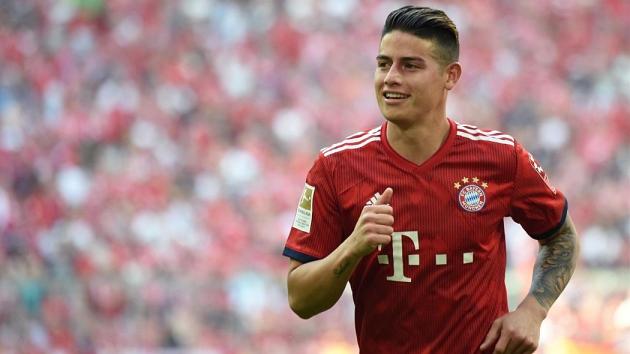James rời Bayern - Bóng Đá