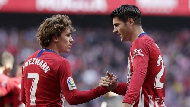 Morata: Chúng tôi tôn trọng quyết định của Griezmann - Bóng Đá