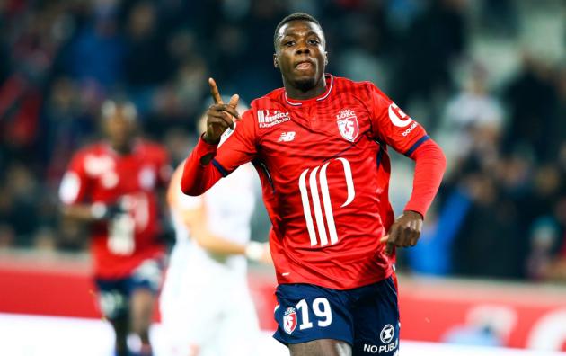 Real giành Nicolas Pepe với M.U - Bóng Đá
