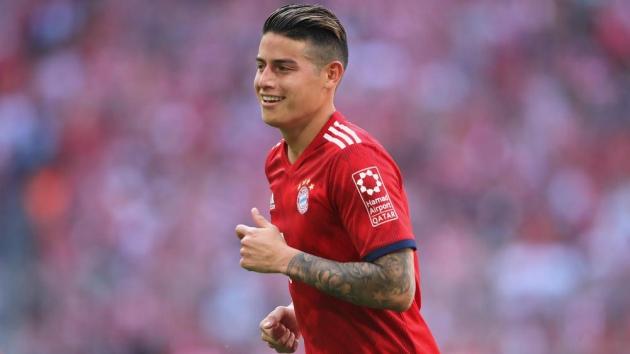 Ấn định tương lai James tại Bayern - Bóng Đá
