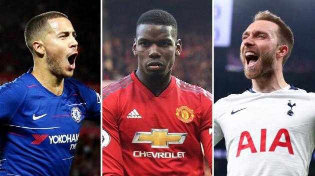 Zidane chi 265 triệu mua Hazard, Eriksen, Pogba - Bóng Đá