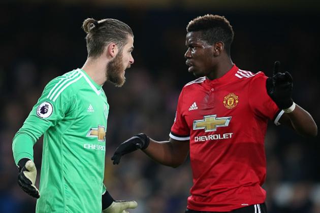 Pogba và De Gea, ở Man Utd chẳng ai là không thể thay thế! - Bóng Đá