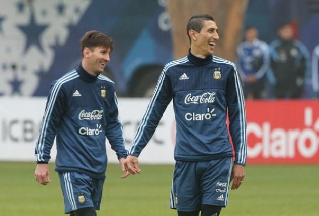 Di Maria muốn chơi cùng Messi - Bóng Đá