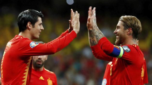 Ramos lý giải vì sao nhường phạt đền cho Morata - Bóng Đá