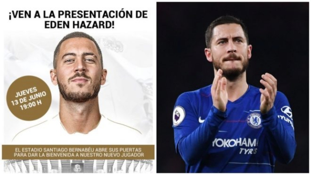 Real Madrid urge fans to fill the Bernabeu for Hazard - Bóng Đá