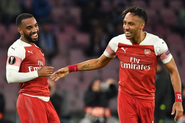 Arsenal không bán Lacazette, Aubameyang - Bóng Đá