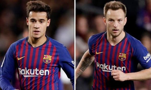 Barcelona's Philippe Coutinho and Ivan Rakitic transfer stance revealed - Bóng Đá