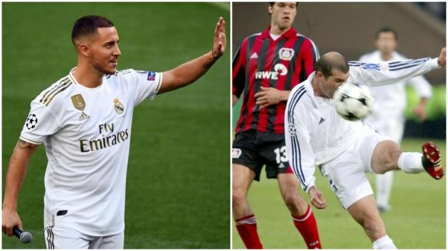 Hazard: My first Real Madrid memory was Zidane's volley against Leverkusen - Bóng Đá