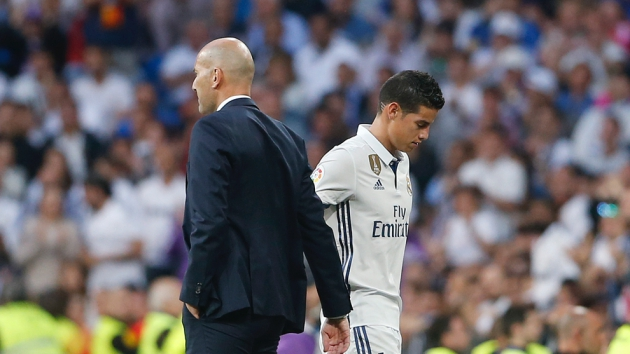 Is James and Zidane's relationship beyond repair? - Bóng Đá