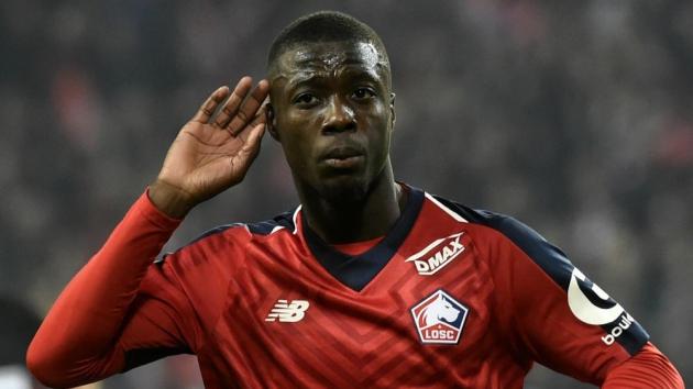 Everton theo đuổi Nicolas Pepe - Bóng Đá