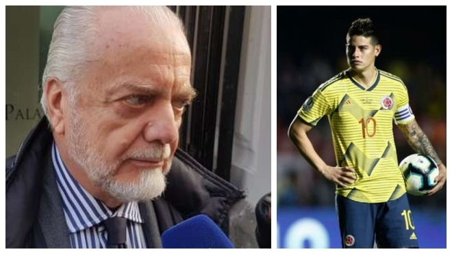 De Laurentiis: Napoli do not want to give in to Florentino Perez's unjust demands - Bóng Đá