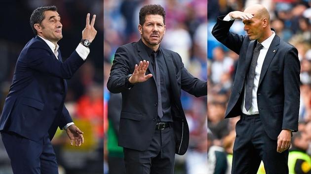 Barca, Atletico và Real Madrid: La Liga trên đường đòi lại thế độc tôn! - Bóng Đá