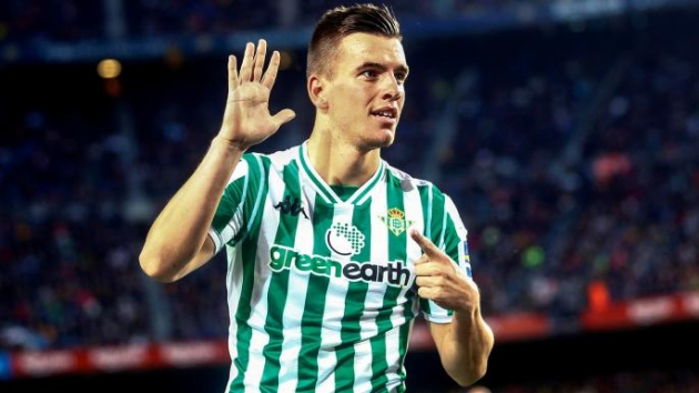 Tottenham target Giovani Lo Celso tells Real Betis he wants transfer - Bóng Đá
