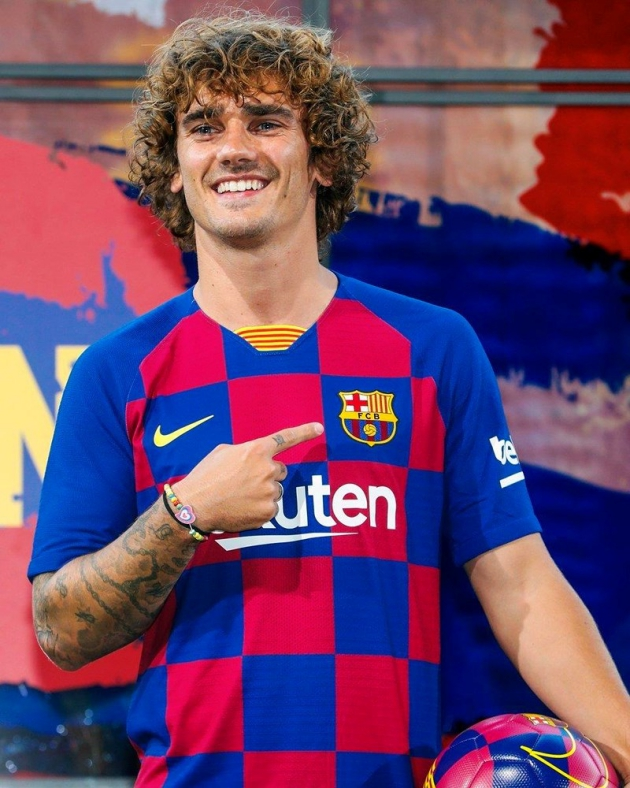 Antoine Griezmann 'cried with happiness' after sealing Barcelona move - Bóng Đá