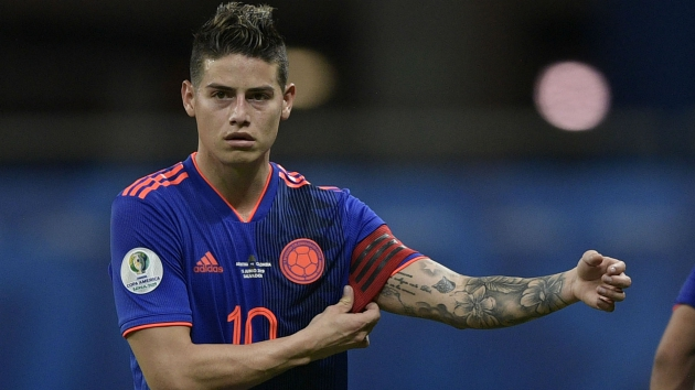 James Rodriguez is Atletico Madrid's 'preferred choice over Tottenham midfielder Christian Eriksen' - Bóng Đá