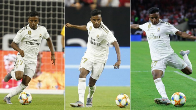 Zidane invents new role for Rodrygo - Bóng Đá