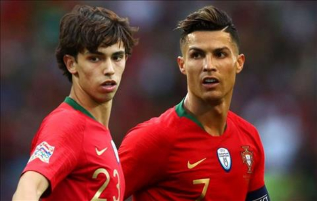 Joao Felix: Obviously I want to be like Cristiano Ronaldo - Bóng Đá