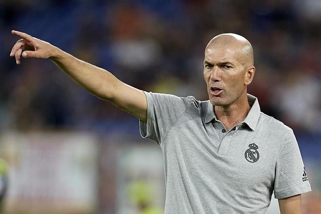 Zidane đang