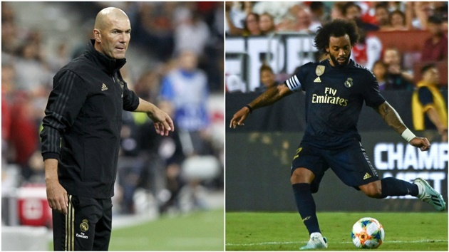 Marcelo is Zidane's trusted man - Bóng Đá