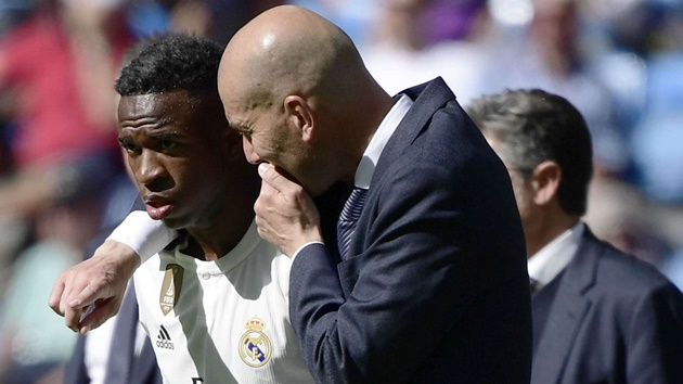 'Idol' Zidane made me nervous when he returned to Real Madrid - Vinicius Junior - Bóng Đá