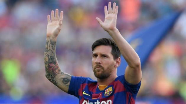 Messi not yet back in full Barcelona training - Bóng Đá