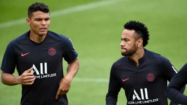 Thiago Silva: My feeling is that Neymar will stay at PSG - Bóng Đá