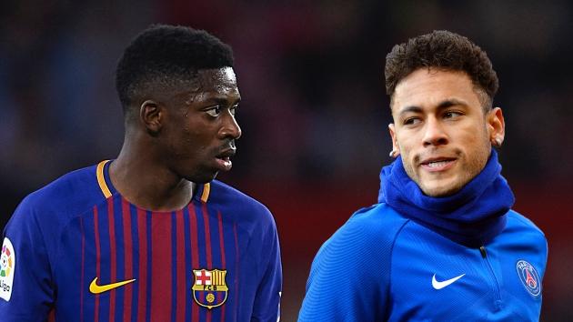 Neymar and Dembele, two stars made of glass - Bóng Đá