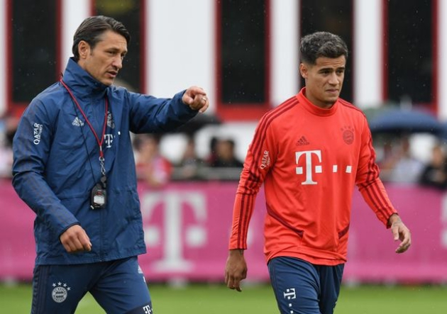 Bayern Munich boss makes worrying Philippe Coutinho claim after first training session - Bóng Đá