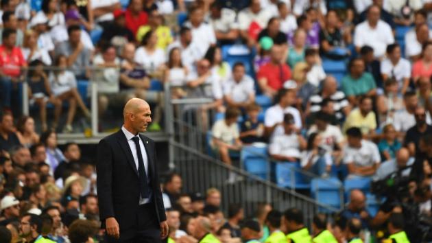 Zidane đối diện với nhiều thử thách suốt thời gian qua.