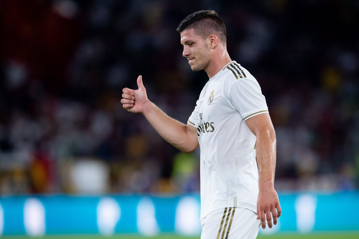 Real Madrid: Luka Jovic could take the field against Levante - Bóng Đá