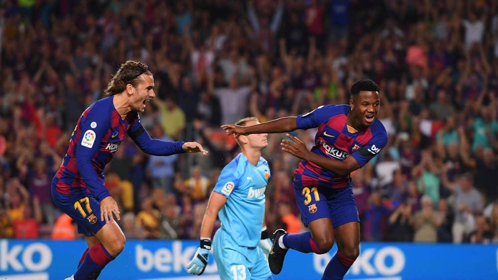 Barcelona đang bay cao mà không có